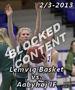 Billeder fra dameligakampen Lemvig Basket vs. Aabyhøj IF...