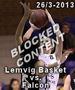Billeder fra Lemvig Basket vs Falcon 26/3 2013...
